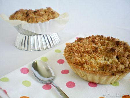 pie crumble rhubarbe 1