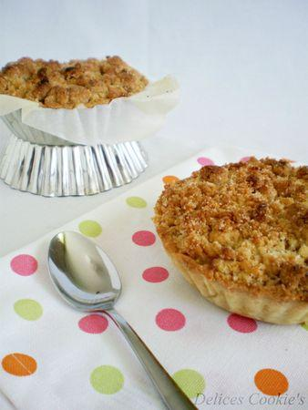 pie crumble rhubarbe 3