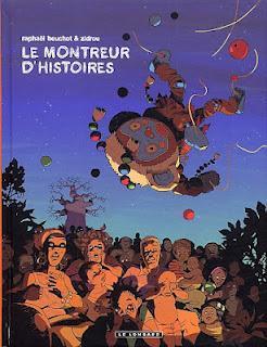 Le montreur d'histoires de Raphaël Beuchot et Zidrou, ma BD du mercredi