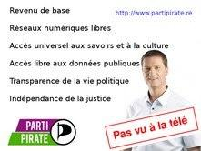 Le Parti pirate attaque Thierry Robert