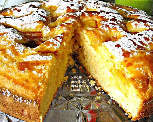 Gâteau moelleux au yahourt noix de coco et ananas - Paperblog