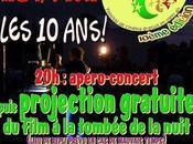 10ème édition Festi Ciné Apéro-concert Projection gratuite film tombée nuit