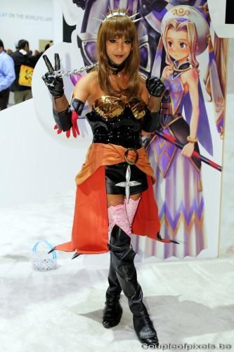 e3 2012, cosplay, babes