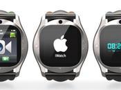 Concept iWatch basé l'iPhone Apps...