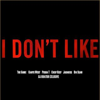 "Game & Chris Brown ""I Don't Like (Remix)"" Drake diss"