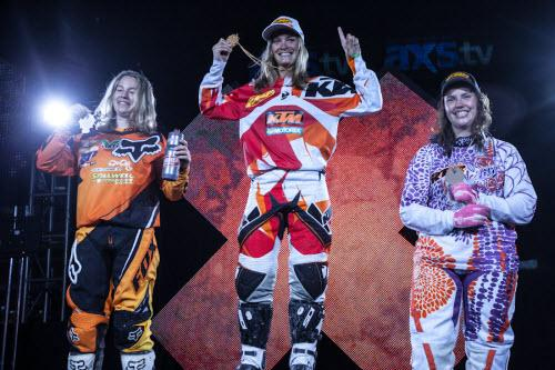 X-Games de Los Angeles: La finale Femme d' Enduro Cross