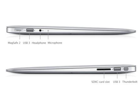 Test : MacBook Air 2012 13 pouces Core i5