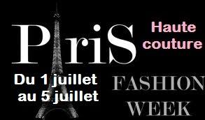Stay up to date : le calendrier de la Fashion Week de Paris Haute Couture.