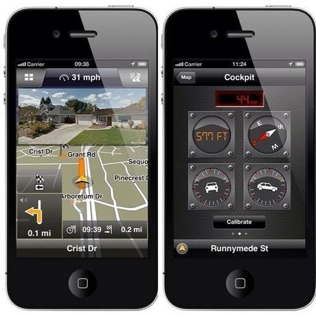 Navigon 2.1 sur iPhone, ajoute Google Street View...