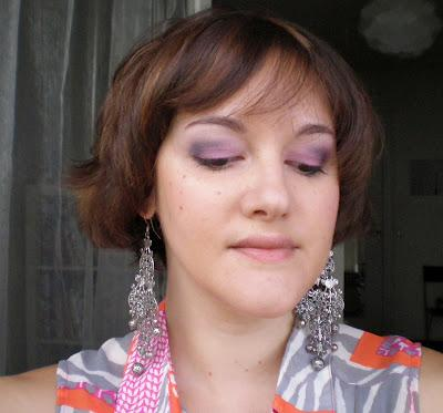 Make Up Noir et Rose avec la Palette 15th Urban Decay