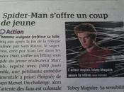 journal Métro avant Tobey Maguire, nouveau Spider-Man