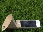 Eco-amp amplificateur carton pour votre iPhone