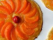 Tartes fines pêches abricots