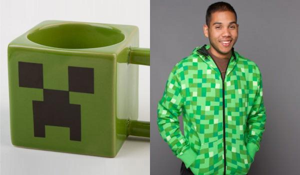Un mug et un sweet Minecraft Creeper