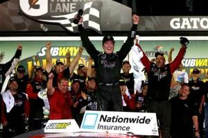Nascar Nationwide Séries: Jalapeno 250/ Victoire de Kurt Busch