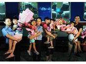 Plus personnes soupçonnées trafic d'enfants arrêtées Chine