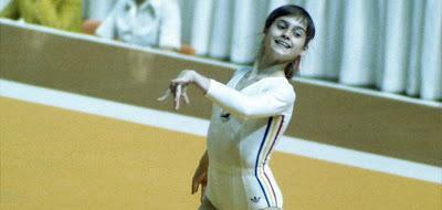 La championne olympique Nadia Comaneci