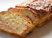 Cake Saumon, Pavot Citrons Confits