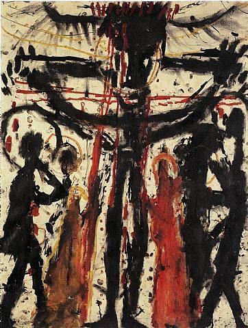 Louis Soutter, artiste suisse,  à la Maison rouge