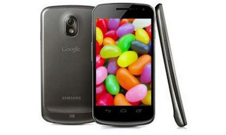 Galaxy Nexus – Jelly Bean la semaine prochaine