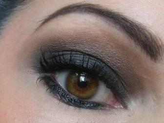 yeux-marron smockey eyes maquillages yeux marrons