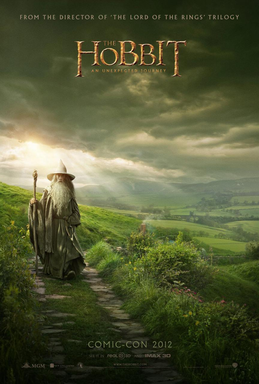 [News] The Hobbit : Gandalf s'affiche !