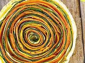 Tarte légumes carottes courgettes
