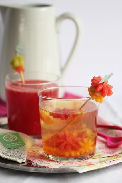 Thé glacé des alizés façon cocktail