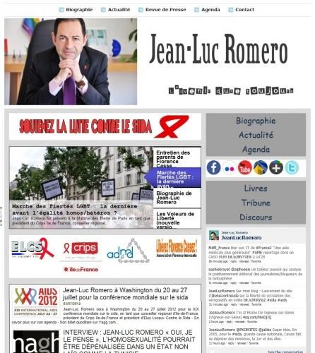 paris,jean-luc romero,christophe michel,web