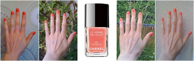 Lubie Vernis: Orange Fizz - Collection Côte d'Azur - Chanel