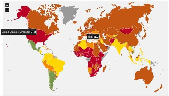 Happy Planet Index