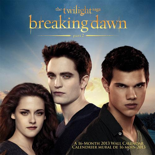 Calendriers Breaking Dawn Part 2