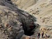 mine Cinabre pré-Inca découverte Trujillo
