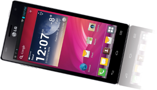LG lancera l'Optimus 4X	HD en France