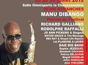Manu Dibango l'affiche Festival Rencontre Cultures Montjazz