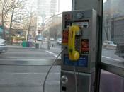 York WiFi gratuit place téléphones publics