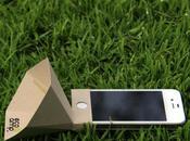 papier pour amplifier votre iPhone...