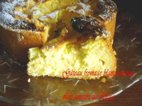 Gâteau fromage blanc/Ananas