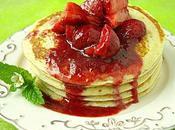 Pancakes beurre fraises
