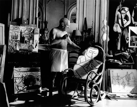 Picasso, Villa Californie, Cannes 1957