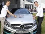 Schumi Nico usines Mercedes Benz