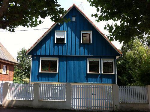 La note o je r ve d 39 une maison bleue strasbourg lire for Je reve d une maison