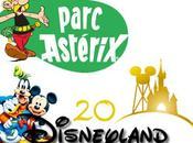 Parc Astérix Disneyland Paris parc d'attraction plus adapté pour 3-4ans?