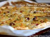 Tarte Légère Prunes Jaunes Pistaches Sicile