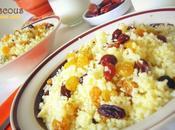 Mesfouf couscous raisins secs