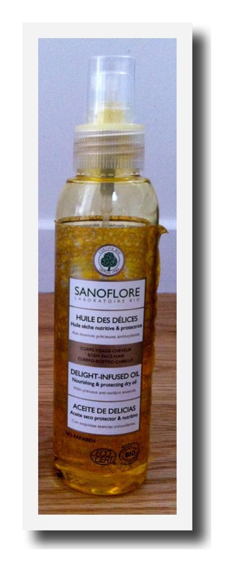 Sanoflore : l'Huile des Délices