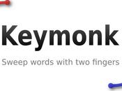 Keymonk clavier double slide