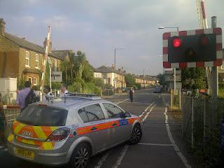 Another accident at North Sheen level crossing