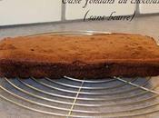 Cake fondant chocolat (sans beurre)