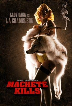 Lady GaGa s'affiche pour Machete Kills …